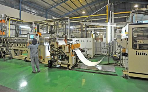 Production Facility - Botol PET | Cup PP | Spunbond
